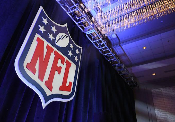 NFL logo sued