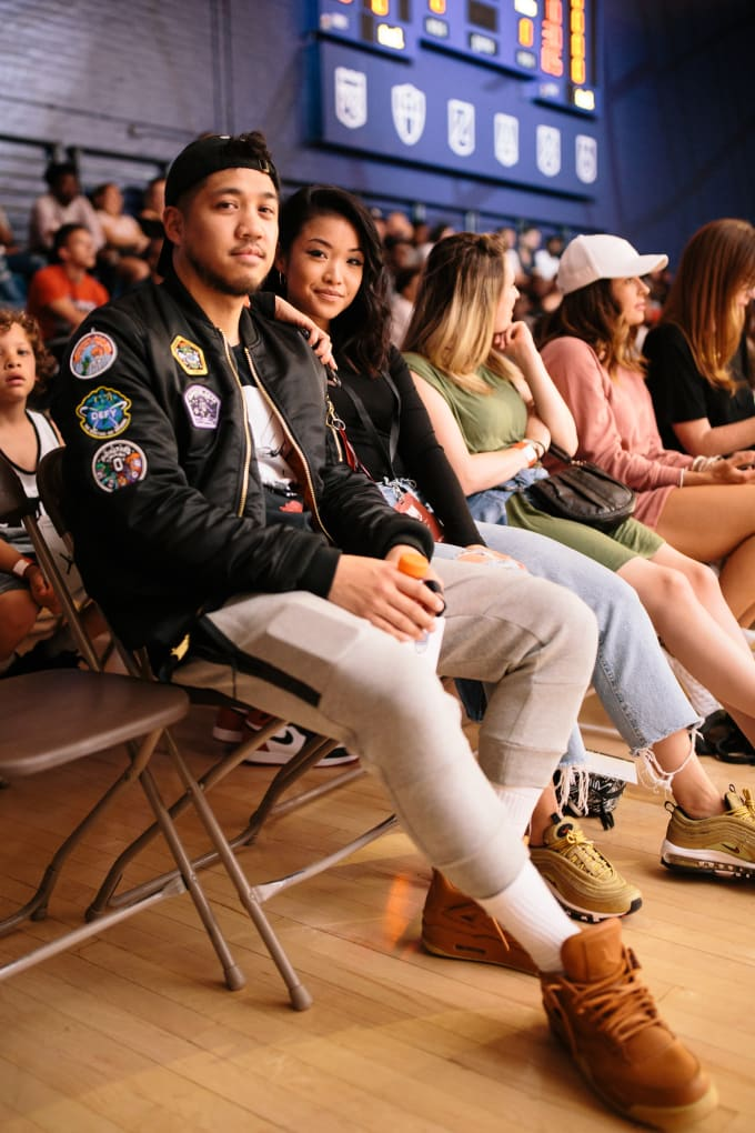 Style In The Stands: Best Dressed at Nike's CROWN LEAGUE In Toronto
