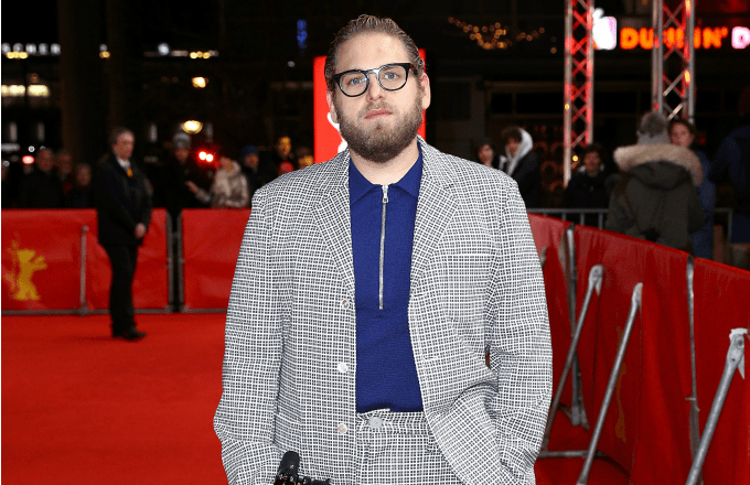 Jonah Hill arrives for the 'Mid 90's' premiere