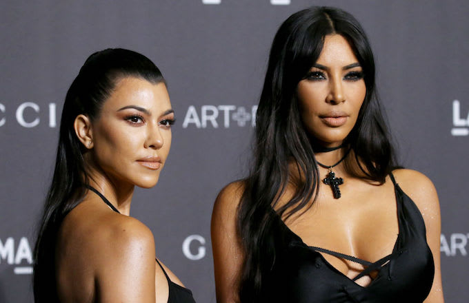 Kourtney, Kim evacuation