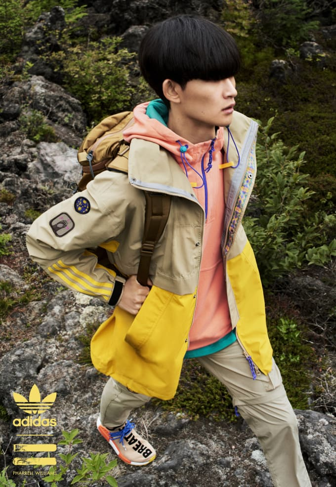 Adidas Originals x Pharrell 'Hiking Collection' Lookbook
