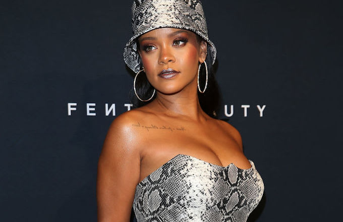 Rihanna trump cease and desist