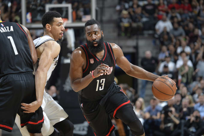 f1accbe5a03e Generation Harden  Five Players Who Could Follow James  Blueprint