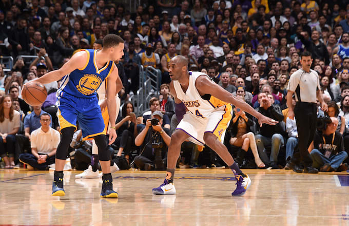 Steph Curry, Kobe Bryant