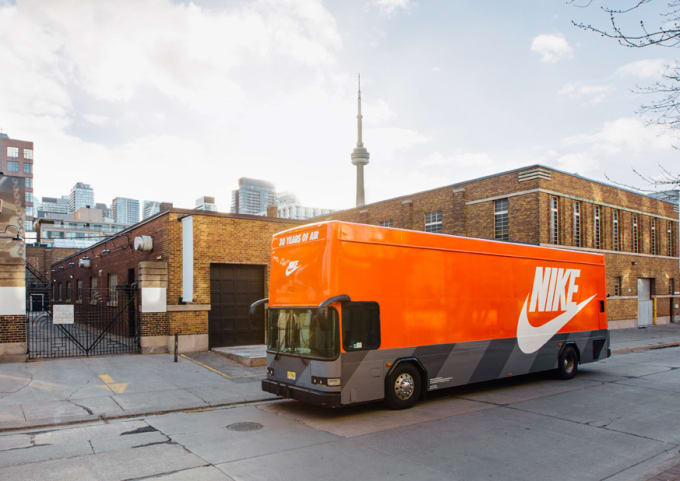 The Nike Air Max Bus Is Touring Around Toronto