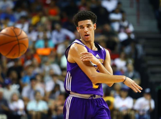 8b488c7695a Lonzo Ball NBA Summer League 2017 NBA