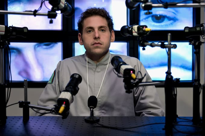 Jonah Hill in a production still from Netflix series 'Maniac'