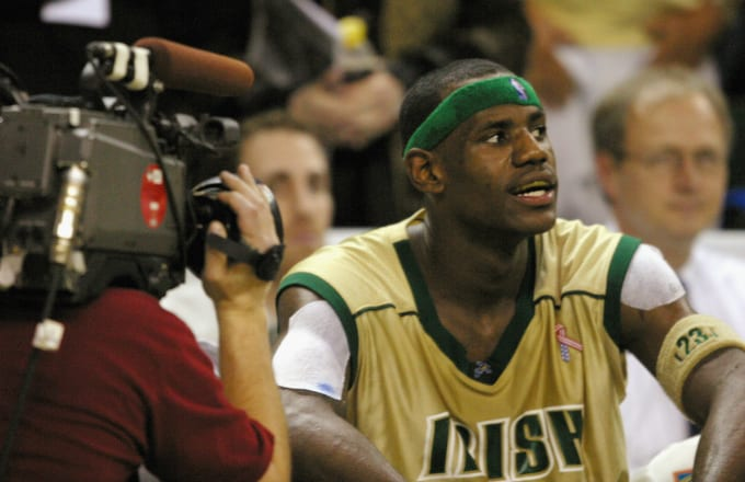 89920c94ab80 LeBron James Opens up About Being Financially Exploited as a High ...