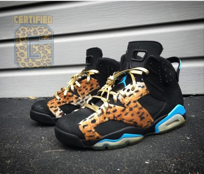 Enzo Amore Jordan Shoes