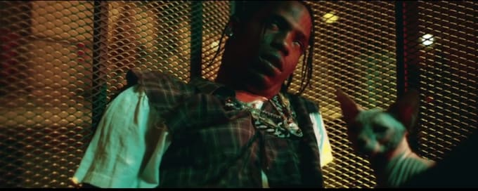 "Travi$ Scott ""Pick Up the Phone"" video screenshot 2"