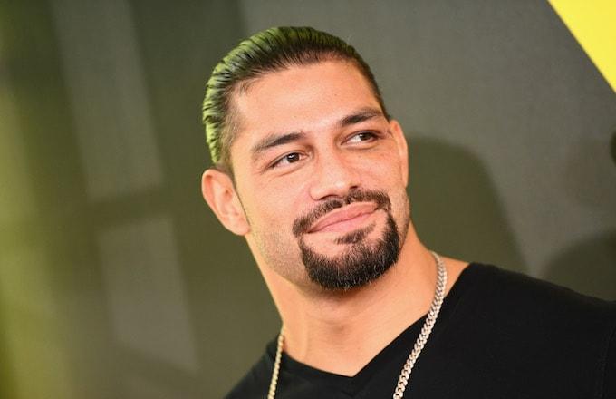 Wrestler Roman Reigns.