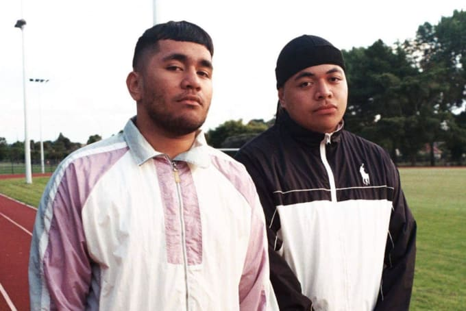 New Zealand rap duo Church & AP