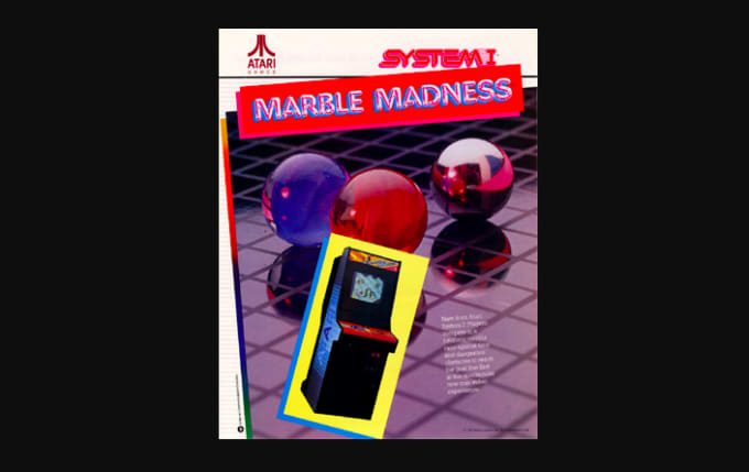 best-old-school-nintendo-games-marble-madness