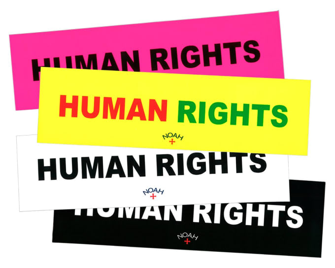 "Noah ""Human Rights"" collection"