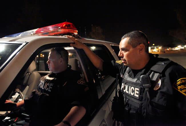 Arizona police on patrol