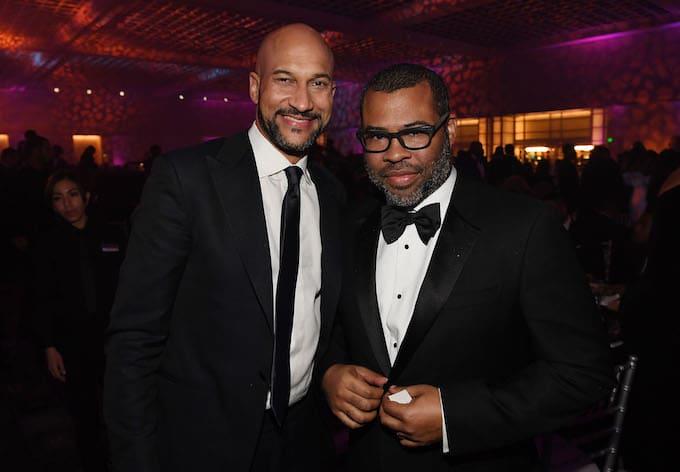 Jordan Peele and Keegan-Michael Key at NAACP Awards
