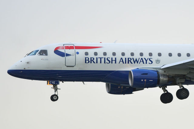 This is a picture of British Airways.
