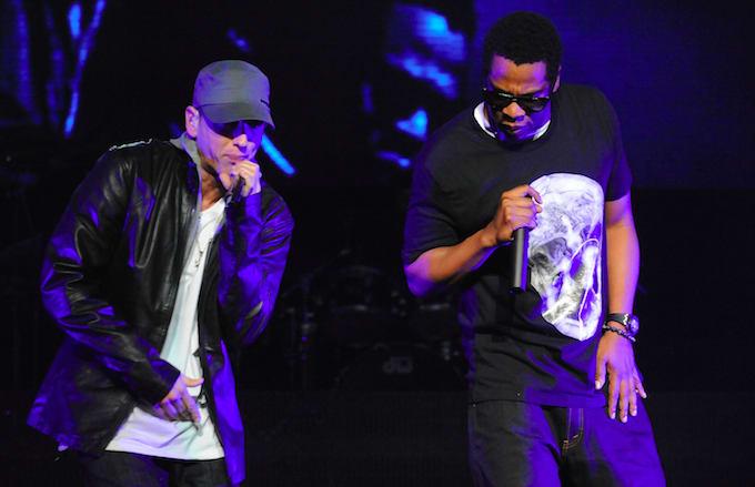Eminem and Jay Z