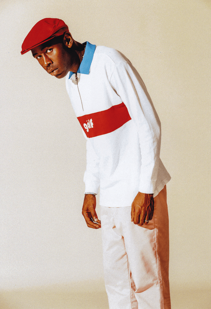 9a7b1120479c Golf Wang Fall Winter 2017 Lookbook. Image via Golf Wang. The first season  of Tyler