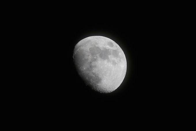 Moon Dark Matter
