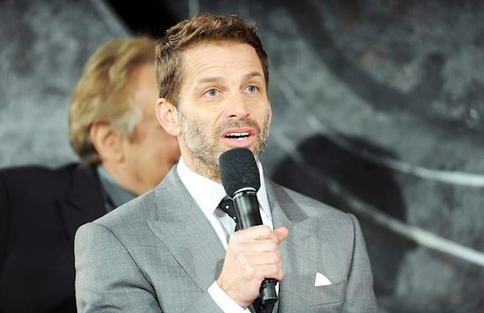 Zack Snyder attends the European Premiere of 'Batman V Superman