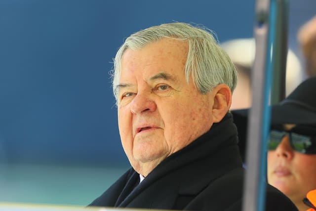 Carolina Panthers owner Jerry Richardson