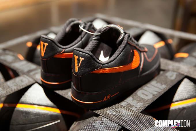 Vlone Nike Air Force 1 Heel