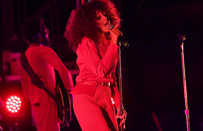 Solange Knowles performs at the 2017 Outside Lands Music And Arts Festival.