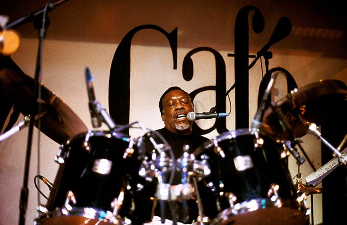 This is a photo of Clyde Stubblefield.