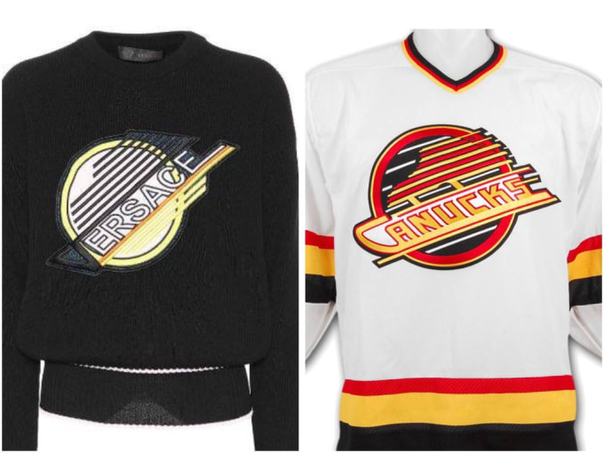The fashion company is catching some heat from hockey fans.  6c08e1775