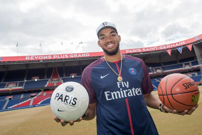 Karl-Anthony Towns soccer