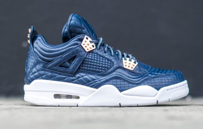 02552aa2b76b00 Air Jordan 4 Navy Pinnacle 4