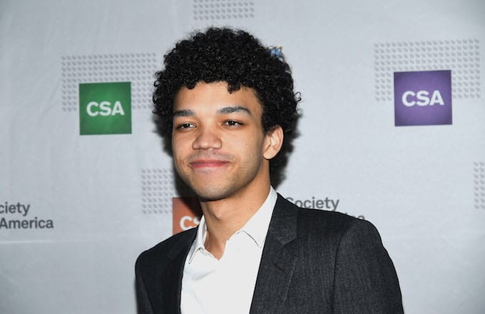 Justice Smith attends the 'Yen' opening after party