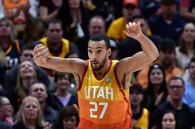 huge discount 1bb1e 2e22c Rudy Gobert Cries Over His All-Star Snub   Complex