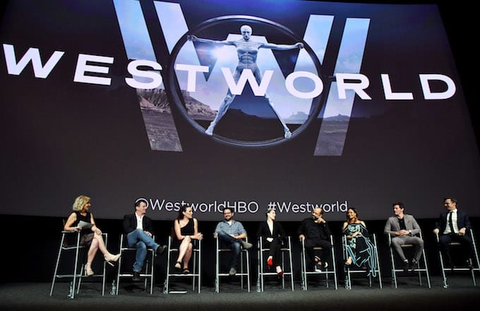 Westworld cast talk.