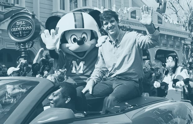 A History of Super Bowl MVPs Going to Disney World