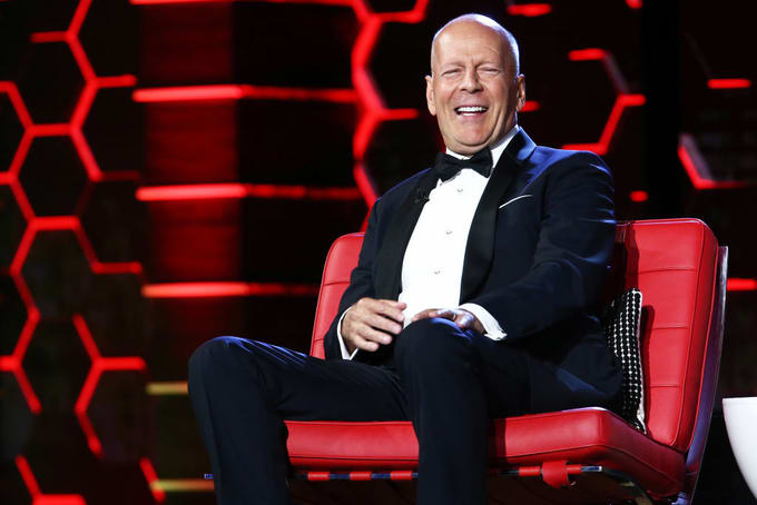 Bruce Willis attends the Comedy Central Roast Of Bruce Willis
