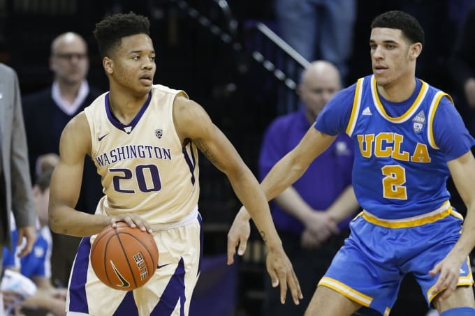 Markell Fultz Lonzo Ball Washington Seattle 2017