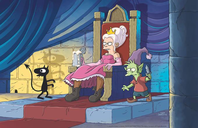 Disenchantment animated series on Netflix