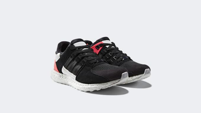 93 EQT SHOES 11 S79130 Black Red Nmd
