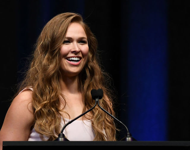This is a picture of Ronda Rousey.