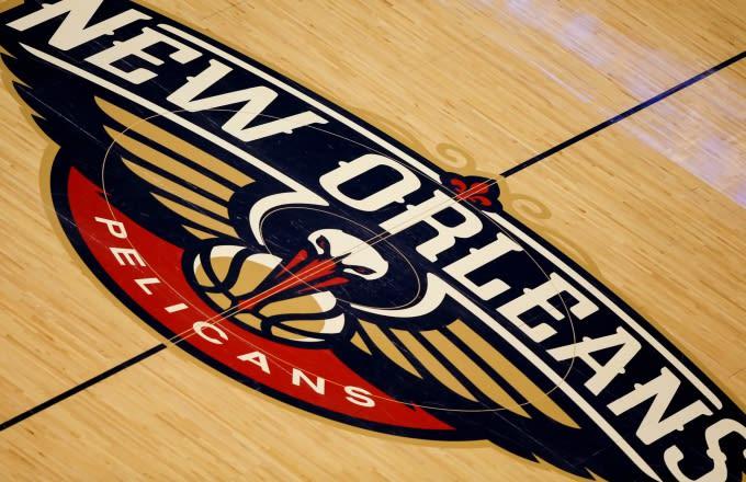 New Orleans Pelicans court.