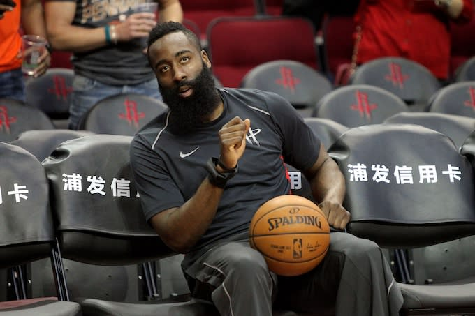 c30065db145 Here s Why James Harden Won t Eat Around People He Doesn t Know ...