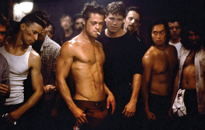 You Probably Won t Survive the Same Workouts Brad Pitt Used to Get ... e54b893fb