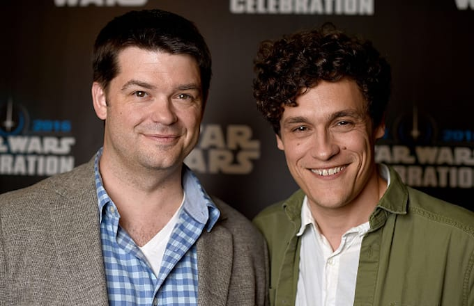 Chris Miller (L) and Phil Lord, directors of 'Untitled Han Solo Star Wars Story'