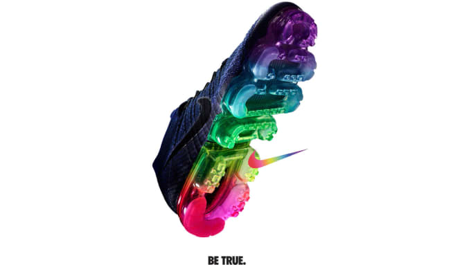 9d725cb9e58 Nike is celebrating the LGBT community with their 2017  BETRUE ...
