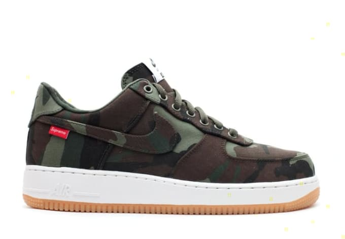 super popular 88054 49165 Supreme x Nike Air Force 1