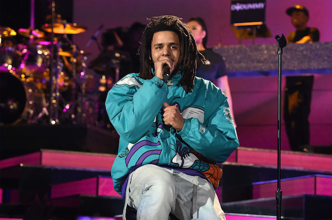 J. Cole in Charlotte