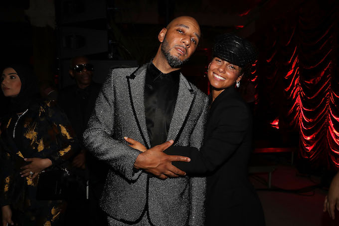 Swizz Beatz and Alicia Keys in NYC