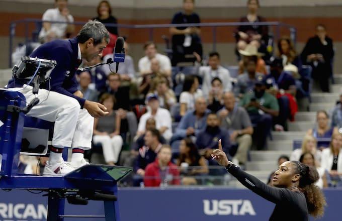 Serena Williams Carlos Ramos